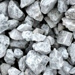 38 white marble chips