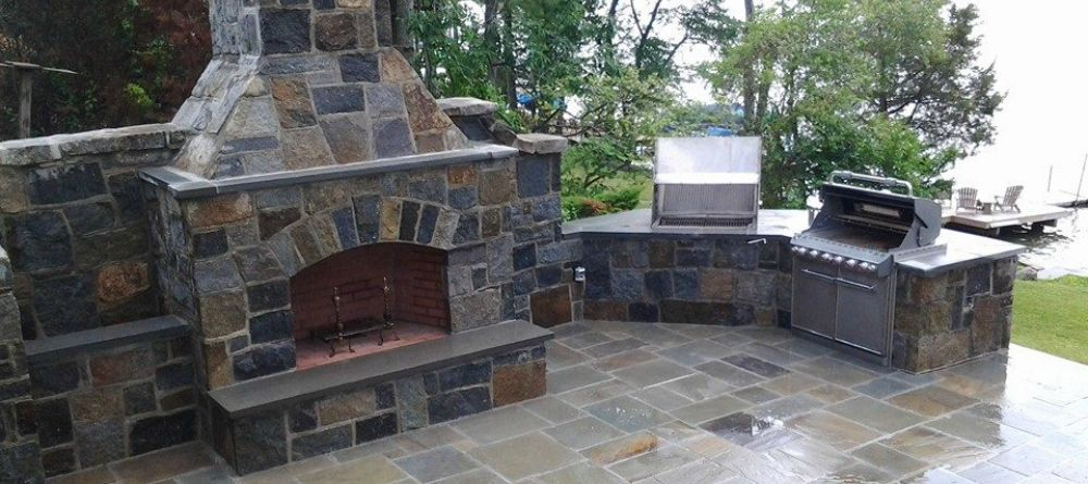 Outdoor Patio Fireplace 4 Budget Friendly Designs