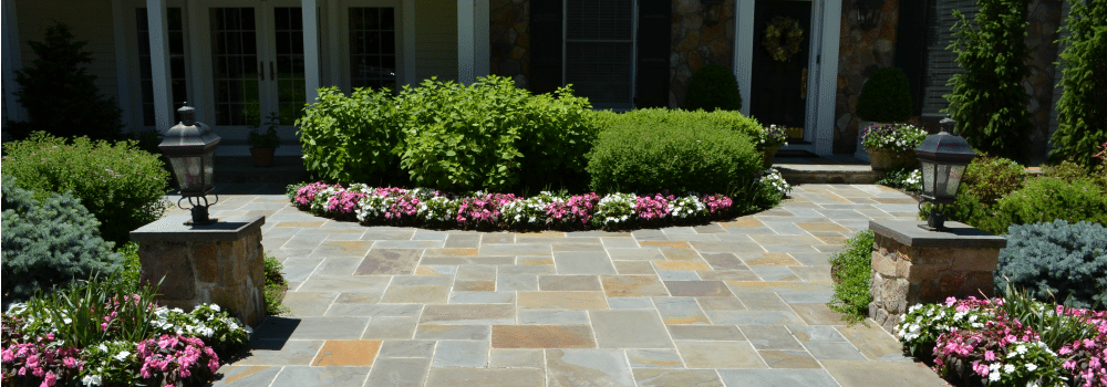 Natural Cleft Full Color Bluestone Dimensional