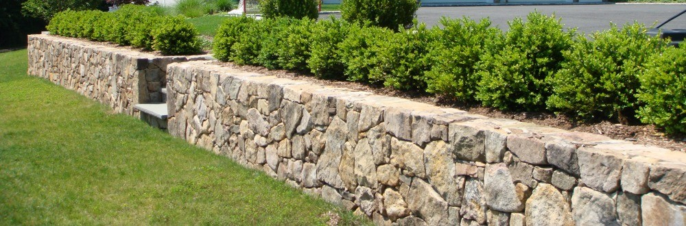 Natural Stone Retaining Walls
