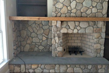 Nu Stone Veneer Fireplace in NJ