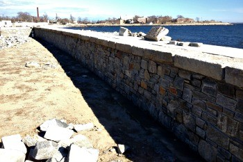 Nu Stone Veneer Sea Wall in NJ