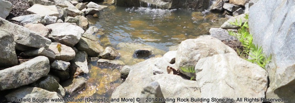Rolling Rock Building Stone for Sale NJ NY
