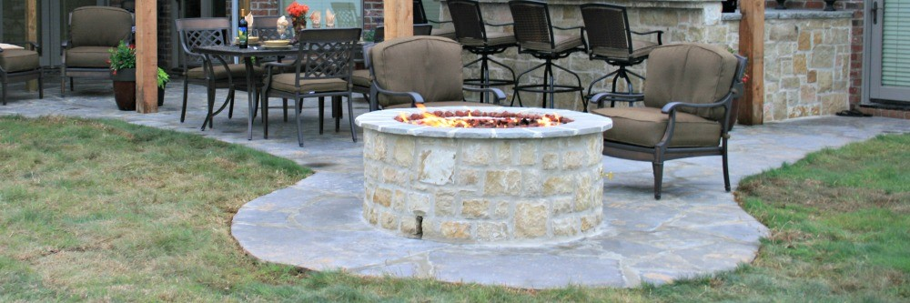 stone fire pit kits for wood burning outdoor age sale lp gas kit