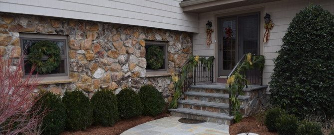 stone on home