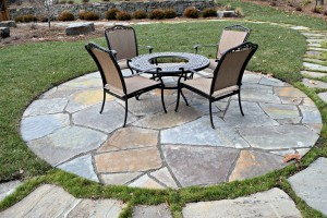 full color bluestone irregular in NJ