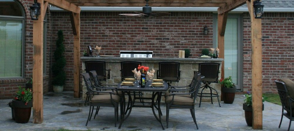 Outdoor kitchen appliances in nj pick the perfect pieces for Perfect outdoor kitchen