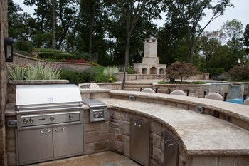 Outdoor Kitchen Countertops - The Best Online Guide